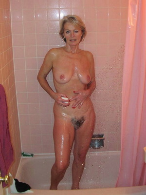 Shower Time Granny